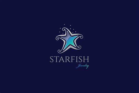 starfish jewelry logo design logo cowboy