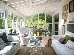 decoration veranda salon With lovely deco mur exterieur maison 4 decoration mur veranda
