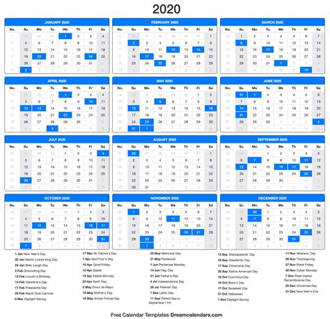 printable calendar dream calendars