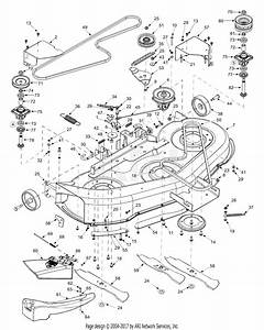 Mtd 13at614h401  2003  Parts Diagram For Deck Assembly H