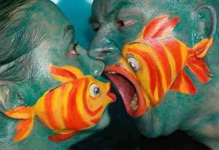 naruto gambar ikan lucu  unik