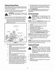 Page 13 Of Cub Cadet Lawn Mower Lt1050 User Guide