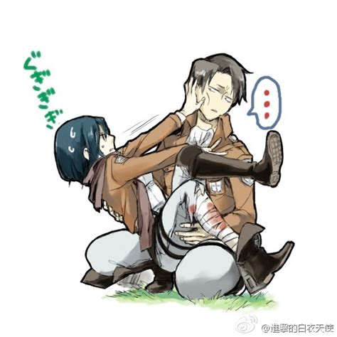 Rivaille X Mikasa Discovered By Finalillusion