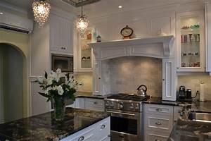 White Victorian Kitchen Traditional Kitchen Toronto