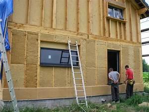 maison ossature bois plan With plan maison bois gratuit