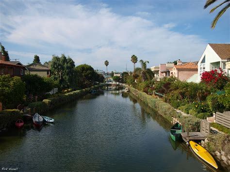venice angeles los california canals travel canal hamell