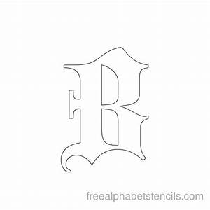 free printable stencils for alphabet letters numbers With letter stencils for clothing