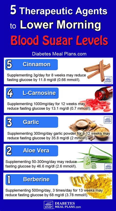 blood sugar high   morning