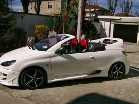 peugeot 206 cc tuning 206 cc l angelo bianco