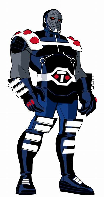 Darkseid Brainiac Dc Deviantart Jlu Villains Animated