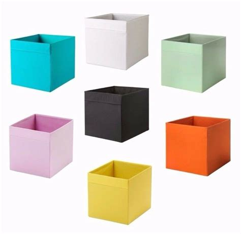 Kisten Ikea by Ikea Drona Box Storge Organizer New Collors Fit To Kallax