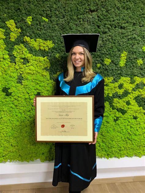 Simona Halep, Doctor Honoris Causa UVT - YouTube