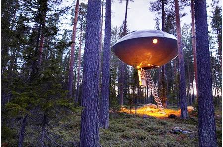 treehotel ufo room       comfortable