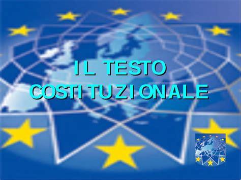 trattato di maastricht testo la costituzione europea testo e articoli storico filosofici