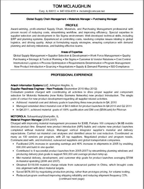 Supply Chain Manager Resume by 10 Best Best Warehouse Resume Templates Sles Images