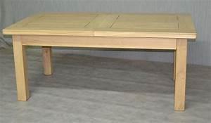Table Bois Avec Rallonge : tables de ferme et ronde meubles rustiques en bois massif ~ Teatrodelosmanantiales.com Idées de Décoration