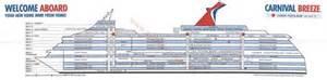 deck plan carnival breeze 2015 pinterest decks and