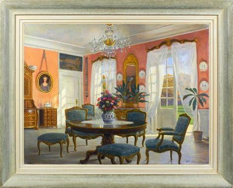 Adolf Heinrich Hansen (18591925) Interior In