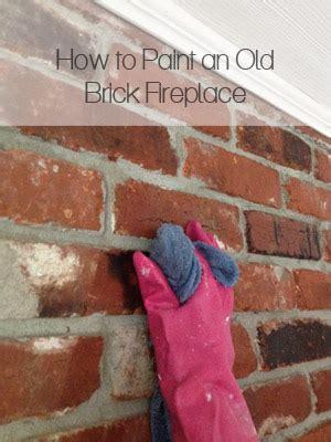 brick fireplace makeover  repurposed life