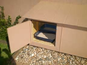 cat outside litter box 7 outdoor cat litter box ideas about pet