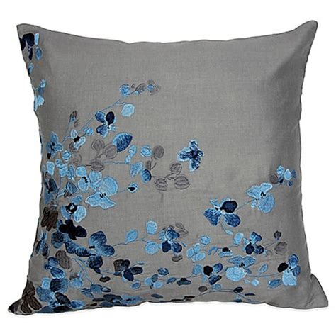 bed bath and beyond sofa pillows hycroft embroidered square throw pillow bed bath beyond