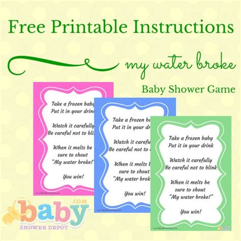 my water baby shower the world s catalog of ideas
