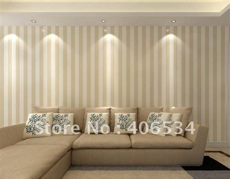 mmfashion simple pinstripe style pvc wall paper