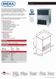 Brema Ice Maker Wiring Diagram