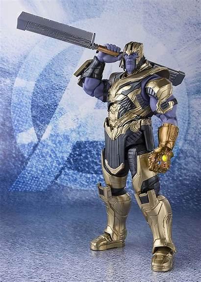 Thanos Endgame Figuarts Sh Bandai Avengers Sword