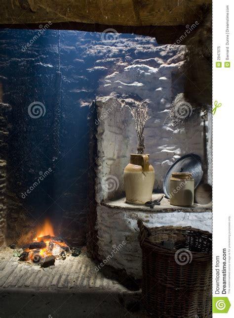 irish hearth fireplace royalty  stock photo