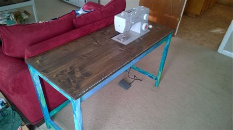 ana white sewing table diy projects