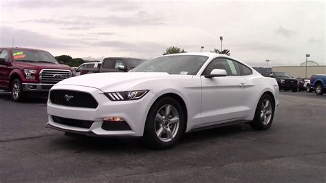 white ford mustang for 2016 ford mustang white calkins marshal mize