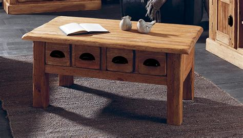 table basse en pin massif galway