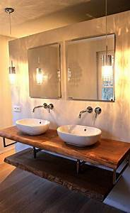 Waschtisch Aus Holz Für Aufsatzwaschbecken : waschtisch konsole waschtischkonsole waschtischplatte ~ Lizthompson.info Haus und Dekorationen