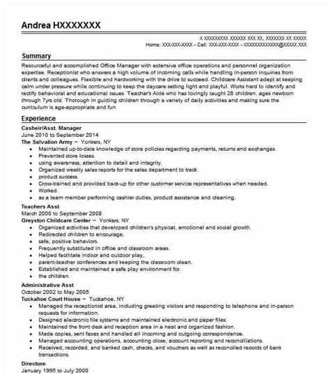 Teachers Aide Resume by Teachers Aide Resume Sle Aide Resumes Livecareer