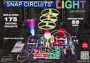 snap circuits light snap circuits light elescl 175 elenco electronic science