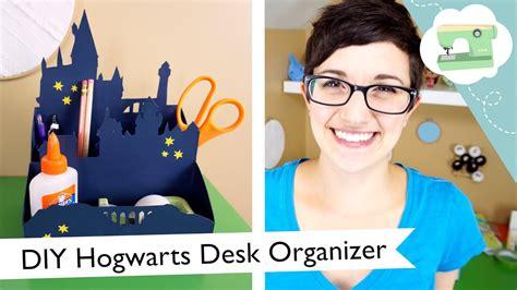 diy hogwarts desk organizer atlaurenfairwx youtube