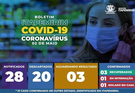 Prefeitura Municipal de Itapemirim - Boletim Covid-19 ...