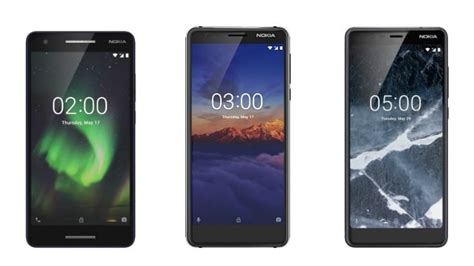 nokia 2 1 nokia 5 1 nokia 3 1 3gb ram variant launched in india price specifications