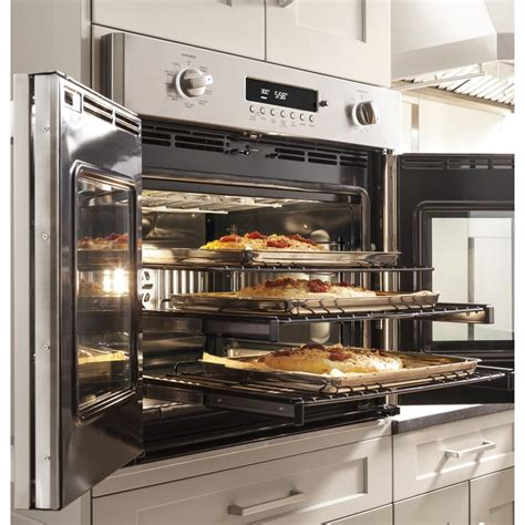 zetfhss ge monogram  professional french door electronic convection single wall oven