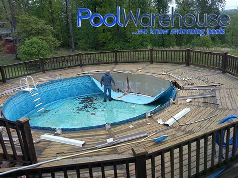 redoing    ground swimming pool pool warehouse