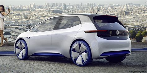 Who Makes Electric Cars by 2016 Volkswagen Id Concept 187 Car Revs Daily
