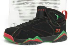 Jordan Retro 7 Black Red Green