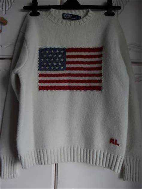 Ralph Lauren Knitted Jumper / Sweater USA Flag   eBay