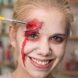 Schminken Zu Halloween : zombie schminken so werden sie zur untoten ~ Frokenaadalensverden.com Haus und Dekorationen