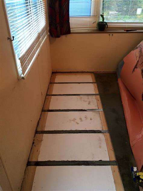 caravan floor repairs caernarfon north wales mike joyce