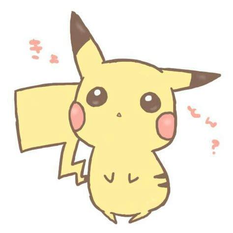 Big Anime Eyes Kawaii Cute Pikachu Image 2275940 By Saaabrina On Favim Com