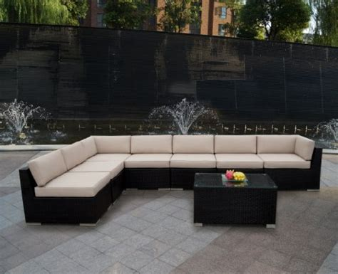 reviews genuine ohana outdoor patio sofa sectional wicker