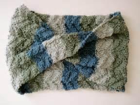 Tide Pool Scarf Knitting Pattern Free
