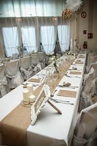 Deco Salle Mariage Champetre : deco salle mariage champetre chic ~ Voncanada.com Idées de Décoration